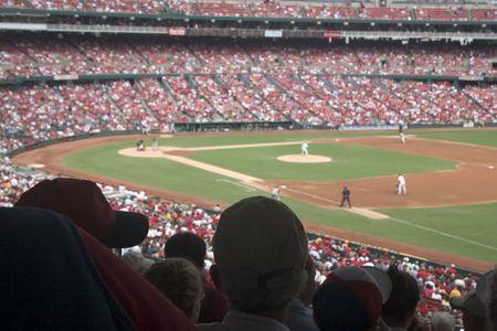 baseball stadium: Baseball Game