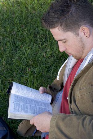 Reading Man photo