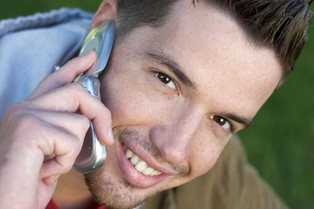 Phone Man Stock Photo - 260284