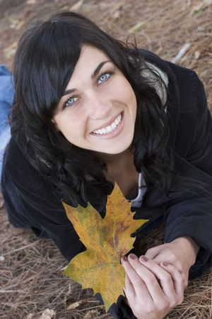 Leaf Woman Stock Photo - 270333