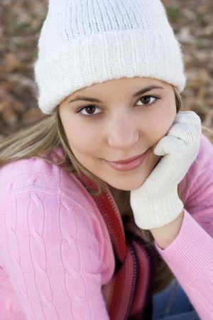 fille hiver: Fille d'hiver