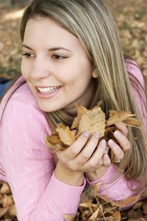 Autumn Woman photo