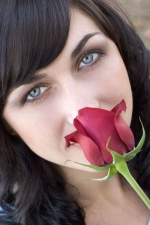 Rose Woman Stock Photo - 307636