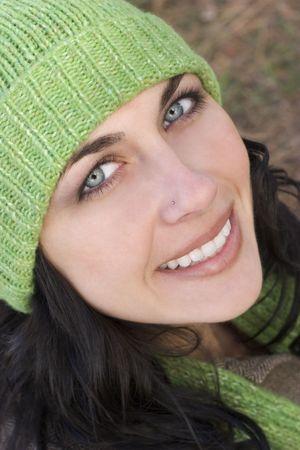 beanies: Beautiful Woman