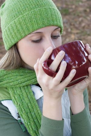 Woman Drinking Stock Photo - 317499
