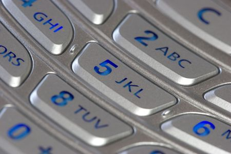 dial pad: Phone Keypad Stock Photo
