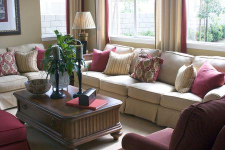 Living Room Фото со стока
