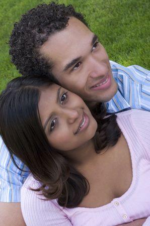 Cute couple Stock Photo - 339595
