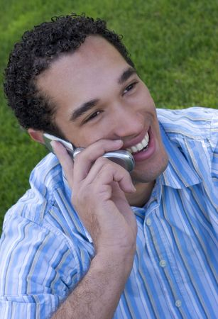 Phone Man Stock Photo - 339604