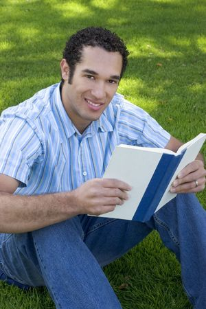 Student Reading Stock Photo - 352663