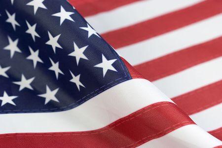 Bandera Americana Foto de archivo - 383591