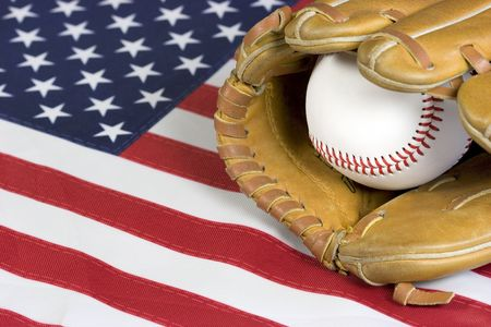 American Baseball Stock Photo - 383590