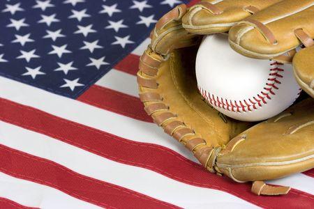American Baseball Stock Photo - 383590