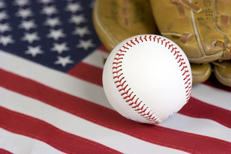 American Baseball Stock Photo - 409964