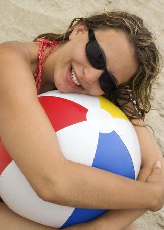 beach ball girl: Playa Chica Ball