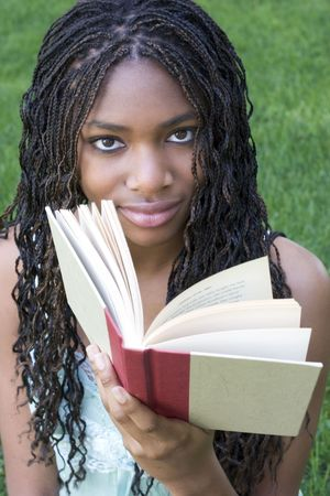 Girl Reading Stock Photo - 418017