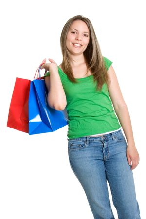 Shopping Bags Girl Stock Photo - 921485