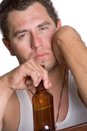 Alcoholic Man Stock Photo - 921499