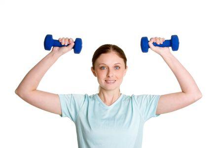 Exercising Woman photo