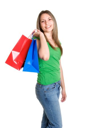 Girl Shopping Stock Photo - 925519