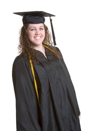 Graduating Girl Stock Photo - 933524