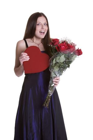Valentines Day Girl Stock Photo - 933547