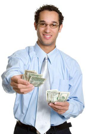 joy of giving: Money Man
