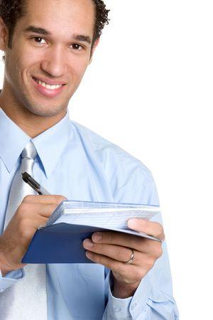 hombre escribiendo: Hombre escrito comprobar
