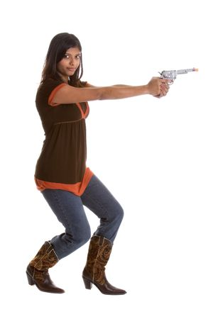 vaqueras: Mujer con Gun
