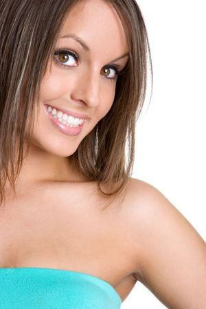 Beautiful Smiling Woman Stock Photo - 980524