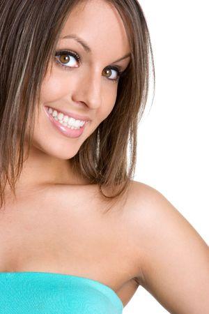 Beautiful Smiling Woman Stock Photo - 980524