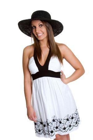 Summer Dress Girl Stock Photo - 980541