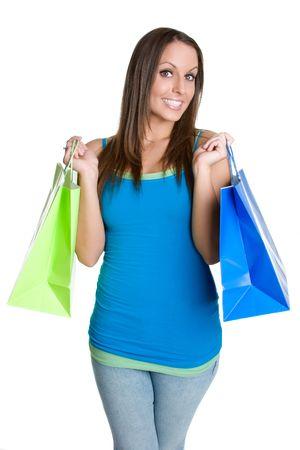 Shopping Bags Woman Stock Photo - 980546