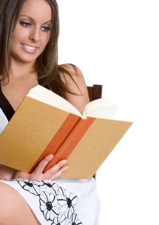 mujer leyendo libro: Mujer libro de lectura