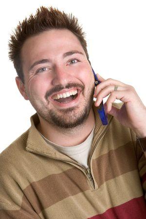 Happy Phone Man photo