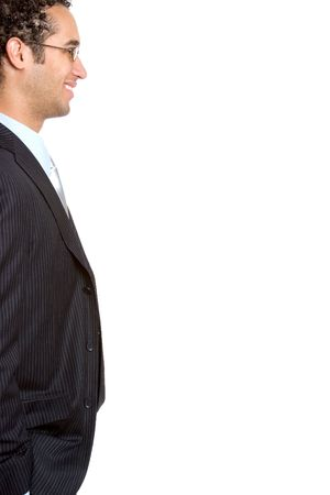 man face profile: Businessman Profile