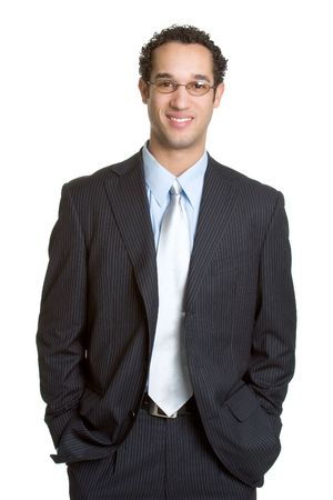Smiling Businessman Stock Photo - 1015566
