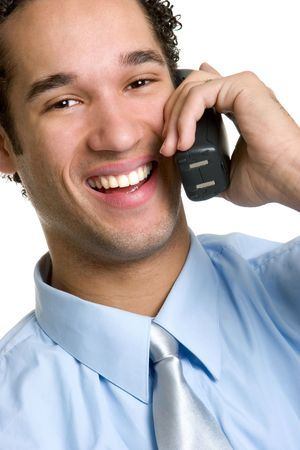Laughing Businessman photo
