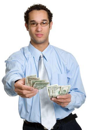 Cash Businessman photo
