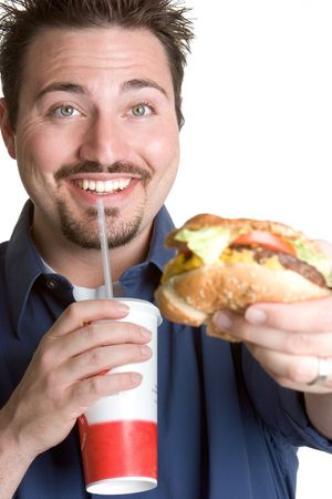 Fast Food Man photo