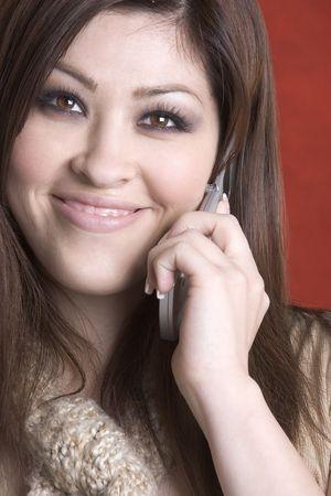 spaniards: Latina Phone Girl