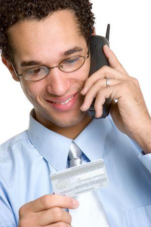 Credit Card Man photo