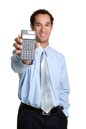 calculated: Calculator Man