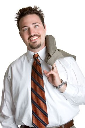 Comfortable Businessman photo