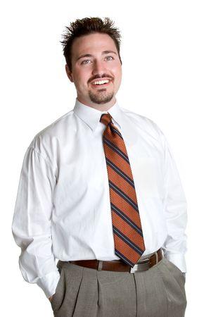 Happy Businessman Stock Photo - 1228894