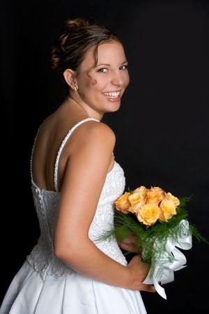Laughing Bride Stock Photo - 1289904