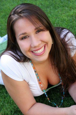 Smiling Latina Girl photo