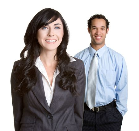 Business Man and Woman Stock Photo - 1289928
