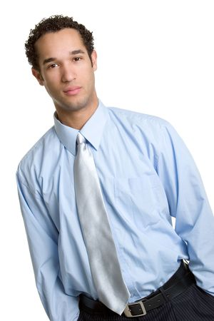 Serious Businessman Stock Photo - 1289931