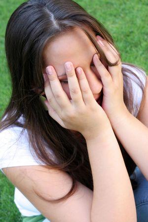 crying girl: Crying Girl
